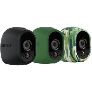 NETGEAR Inc. ARLO ネットワークカメラ用スキンパック(3色セット) VMA1200-10000S - 拡大画像