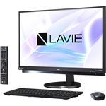 NECパーソナル LAVIE Desk All-in-one - DA970/HAB ファインブラック PC-DA970HAB