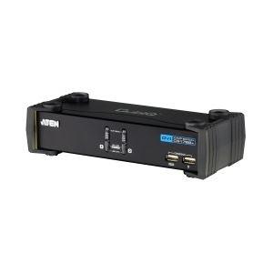 ATEN DVI対応 2ポートKVMPスイッチ USB2.0ハブ搭載 CS1762A