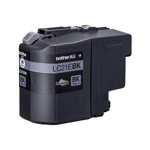 ブラザー工業 インクカートリッジ大容量タイプ (黒) LC21EBK