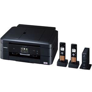 ブラザー工業 A4インクジェット複合機/FAX/10/12ipm/デジタル子機2台/両面印刷/無線LAN/ADF MFC-J907DWN - 拡大画像