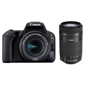 キヤノン デジタル一眼レフカメラ EOS Kiss X9 ブラック(W)・ダブルズームキット 2248C003 商品写真1