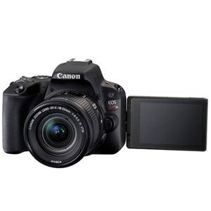 キヤノン デジタル一眼レフカメラ EOS Kiss X9 ブラック(W)・ダブルズームキット 2248C003 商品写真3