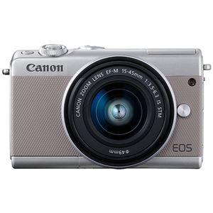 キヤノン ミラーレスカメラ EOS M100・EF-M15-45 IS STM レンズキット(グレー) 2211C014 商品写真