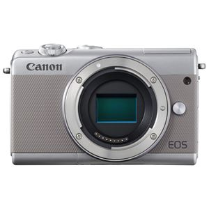 キヤノン ミラーレスカメラ EOS M100・ボディー (グレー) 2211C004 商品写真