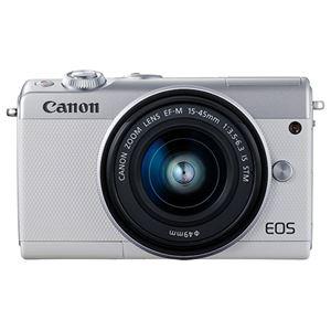 キヤノン ミラーレスカメラ EOS M100・EF-M15-45 IS STM レンズキット(ホワイト) 2210C014 商品写真