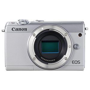 キヤノン ミラーレスカメラ EOS M100・ボディー (ホワイト) 2210C004 商品写真