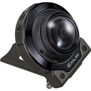 カシオ計算機 デジタルカメラ FREE STYLE EXILIM EX-FR200 カメラ単体 ブラック EX-FR200CABK 商品写真