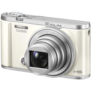 カシオ計算機 デジタルカメラ HIGH SPEED EXILIM EX-ZR3200 ホワイト EX-ZR3200WE 商品写真