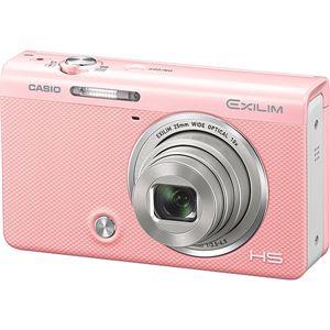 カシオ計算機 デジタルカメラ HIGH SPEED EXILIM EX-ZR70 ピンク EX-ZR70PK 商品写真