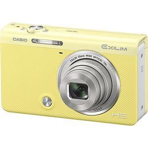 カシオ計算機 デジタルカメラ HIGH SPEED EXILIM EX-ZR70 イエロー EX-ZR70YW 商品写真