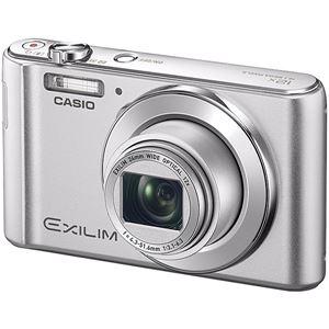 カシオ計算機 デジタルカメラ EXILIM EX-ZS240 シルバー EX-ZS240SR 商品写真