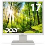 Acer 5年保証 17型スクエア液晶ディスプレイ V176Lwmd(非光沢/TN/1280x1024/SXGA/250cd/100000000:1/5ms/ホワイト/ミニD-Sub15ピン・DVI-D 24ピン) V176Lwmd