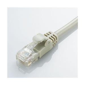 エレコム CAT6準拠 GigabitやわらかLANケーブル 3m(ライトグレー) LD-GPY/LG3