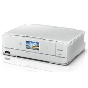 エプソン A3インクジェットプリンター/カラリオ多機能/6色染料/作品印刷機能(カラー)/Wi-FiDirect/スマホ対応/4.3型ワイドタッチパネル&フリック操作 EP-979A3 - 拡大画像