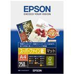 エプソン スーパーファイン紙 (A4/250枚) KA4250SFR