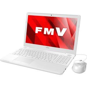 FUJITSU LIFEBOOK AH45/B2 プレミアムホワイト FMVA45B2W - 拡大画像