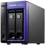アイ・オー・データ機器 Windows Storage Server 2016 WorkgroupEdition/Intel Celeron搭載 2ドライブ法人向けNAS 2TB HDL-Z2WQ2D