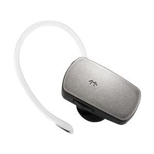 Logitec Bluetooth 3.0準拠音楽対応ミニヘッドセット/シルバー LBT-MPHS400MSV - 拡大画像