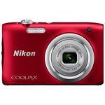 ニコン デジタルカメラ COOLPIX A100 レッド COOLPIXA100RD