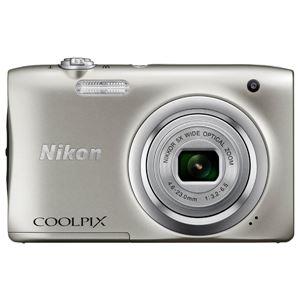 ニコン デジタルカメラ COOLPIX A100 シルバー COOLPIXA100SL - 拡大画像