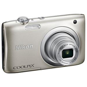 ニコン デジタルカメラ COOLPIX A100 シルバー COOLPIXA100SL 商品写真4