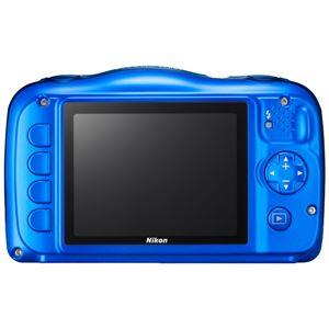 ニコン デジタルカメラ COOLPIX W100 ブルー COOLPIXW100BL 商品写真2