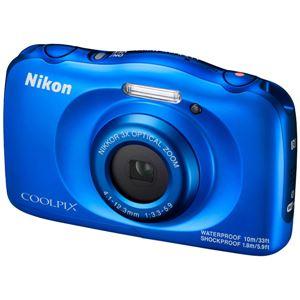 ニコン デジタルカメラ COOLPIX W100 ブルー COOLPIXW100BL 商品写真3