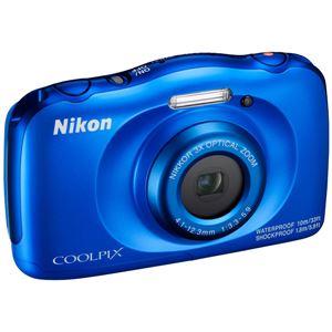 ニコン デジタルカメラ COOLPIX W100 ブルー COOLPIXW100BL 商品写真4