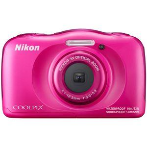 ニコン デジタルカメラ COOLPIX W100 ピンク COOLPIXW100PK 商品写真1