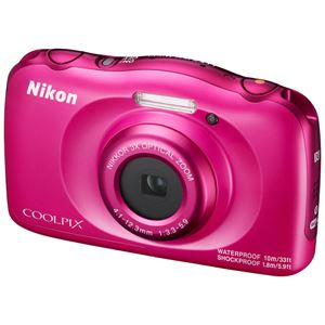 ニコン デジタルカメラ COOLPIX W100 ピンク COOLPIXW100PK 商品写真3