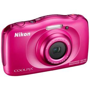 ニコン デジタルカメラ COOLPIX W100 ピンク COOLPIXW100PK 商品写真4