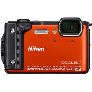 ニコン デジタルカメラ COOLPIX W300 オレンジ COOLPIXW300OR - 拡大画像