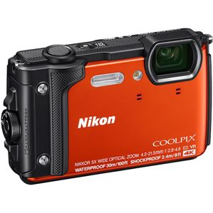 ニコン デジタルカメラ COOLPIX W300 オレンジ COOLPIXW300OR 商品写真4