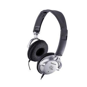 パナソニック(家電) ステレオヘッドホン (シルバー) RP-DJ100-S - 拡大画像