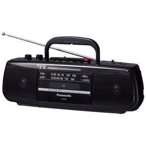 パナソニック(家電) ステレオラジオカセットレコーダー (ブラック) RX-FS27-K - 拡大画像