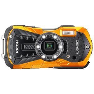 リコーイメージング 防水デジタルカメラ WG-50 (オレンジ) WG-50OR 商品写真