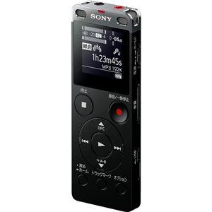 SONY ステレオICレコーダー FMチューナー付 4GB ブラック ICD-UX560F/B