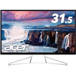 Acer 3年保証 31.5型ワイド液晶ディスプレイ ET322QKwmiipx(VA/非光沢/3840x2160/300cd/4K/4ms/HDMI2.0x2・DisplayPortv1.2/フリッカーレス/HDR Ready/AMD Free Sync)