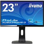 iiyama 23型ワイド液晶ディスプレイ ProLite XUB2390HS-3(LED、AH-IPS、昇降スタンド付) マーベルブラック