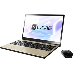 NECパーソナル LAVIE Note NEXT - NX750/JAG グレイスゴールド - 拡大画像