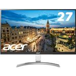 Acer 27型ワイド液晶ディスプレイ RC271Usmidpx(IPS/非光沢/2560x1440/QHD/350cd/4ms/DVI-D(DualLink対応)・HDMI・DisplayPort)