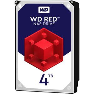 WESTERN DIGITAL WD Redシリーズ 3.5インチ内蔵HDD 4TB SATA6.0Gb/sIntelliPower 64MB