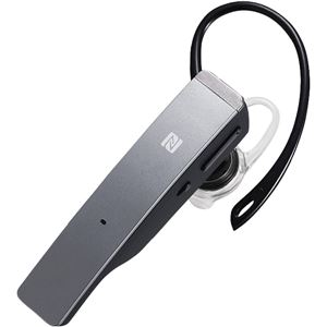 バッファロー(サプライ) Bluetooth4.1対応 2マイクヘッドセット メタルアンテナ搭載&NFC対応モデルシルバー