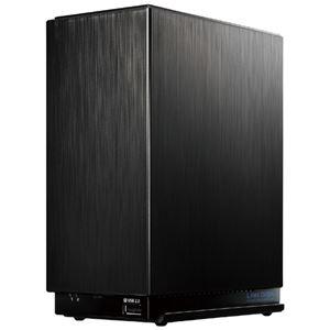 アイ・オー・データ機器 デュアルコアCPU搭載 2ドライブ高速ビジネスNAS 8TB
