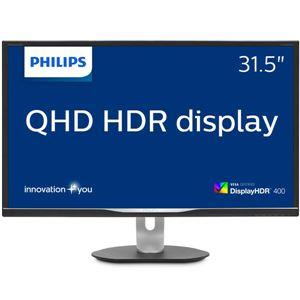 PHILIPS(ディスプレイ) 31.5型 HDR対応IPSテクノロジーパネル採用液晶WQHDディスプレイ 5年間フル保証
