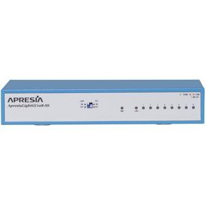 APRESIA Systems ApresiaLightGC108-SS【5年間無償保証付き(先出しセンドバック他)】L2ノンインテリジェントスイッチングHUB (FANレス)■電源コードストッパー/マグネット標準添付