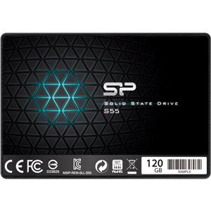 シリコンパワー 【SSD】SATA3準拠6Gb/s 2.5インチ 7mm 120GB - 拡大画像