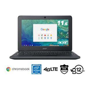 Acer C732L-H14M (Chromebook/Chrome OS/CeleronN3350/4GB/16GB eMMC/11.6型/モバイル/docomo LTE対応/無線LAN/ブラック/1年保証)