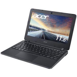 Acer TMB117M-S14QB6 (Celeron N3060/4GB/128GBSSD/11.6型/Windows 10 Pro 64bit/モバイル/1年保証/マットブラック/OfficeHome&Business 2016)